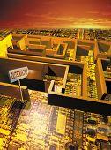 Outsourcing Maze