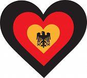 Germany Heart