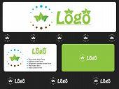 Design criativo de vegetais de folha verde