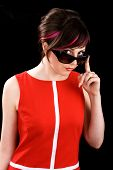 Ironic Woman In Sunglasses