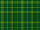 Green Scottish Tartan