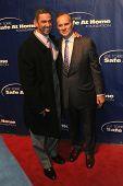 NOVA YORK-JAN 24: Jogadores de MLB ex Jorge Posada e Joe Torre assistir o 10º aniversário Joe Torre
