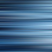 Blue Colors Graduated Horizontal Lines Abstract Background