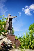 Bishop Statue