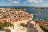 The Old Town of Hvar, Croatia