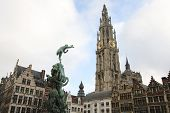 Center Of Antwerp, Belgium