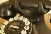 Colheita de telefone vintage