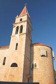 Church in Postira on Brac island, Croatia