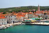 Supetar on Brac island, Croatia