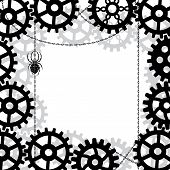 Gears, Spider And Chains
