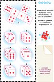 pic of spatial  - Visual math puzzle  - JPG