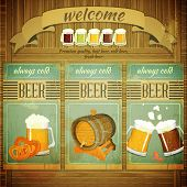 Menu de Beer pub