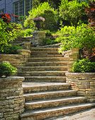 Stone Stairs Landscaping