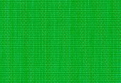 green background of criss cross fabric texture