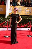 LOS ANGELES - JAN 27:  Kelly Osbourne arrives at the 2013 Screen Actor's Guild Awards at the Shrine