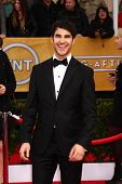 LOS ANGELES - JAN 27:  Darren Criss arrives at the 2013 Screen Actor's Guild Awards at the Shrine Au