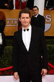 LOS ANGELES - JAN 27:  Matthew Morrison arrives at the 2013 Screen Actor's Guild Awards at the Shrin