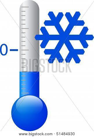 Vector ice cold symbol