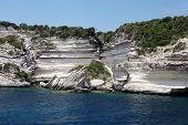 White Cliff Close To The Town Bonifacio - Corsica