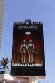 The Cosmopolitan Hotel Sign In Las Vegas, Nv On April 19, 2013