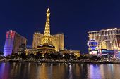 A View Of Las Vegas Boulevard In Las Vegas, Nv On May 20, 2013