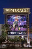 The Mirage Hotel Sign In Las Vegas, Nv On June 05, 2013