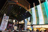Fremont Street Experience In Las Vegas, June 21, 2013.