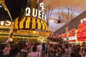 Fremont Street In Las Vegas, June 21, 2013.
