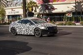 Cadillac Elr Heat Testing On The Strip In Las Vegas, Nv On June 26, 2013