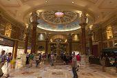 Caesars Palace Forum Shops Casino Entrance In Las Vegas, Nv On June 26, 2013