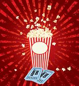 popcorn explosion with admit one tickets