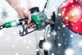 picture of gasoline station  - transportation and ownership concept  - JPG