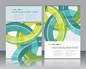 Brochure Design Element, Vector Illustartion