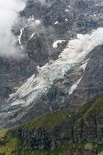 High mountain glacier