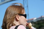 Woman, Ice-cream