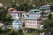 stock photo of sherpa  - Namche Bazar  - JPG