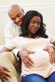 picture of natal  - Couple Attending Ante Natal Class Together - JPG