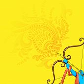 foto of dussehra  - vector illustration of Rama killing Ravana in Happy Dussehra - JPG