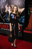 LOS ANGELES - SEP 24:  Cara Theobold at the Romeo & Juliet Premiere at ArcLight Hollywood Theaters o
