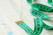Measuring Tape On Patterns