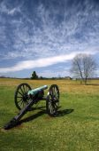 Manassas Battlefield Monument In Virginia
