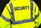 Security jacket closeup
