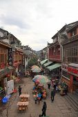 Fenghuang Busy Street