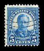 Roosevelt postage stamp 1922