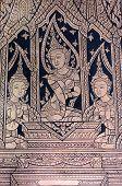 Apsara Buddhist Mural