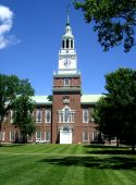 foto of dartmouth  - Baker Library on the campus of Dartmouth College in Hanover - JPG