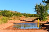Flooding Palo Duro Canyon