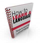 How to Learn a New Language Book Manual Instructions
