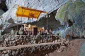 Tham Phu Kham Cave Near Vang Vieng. Laos
