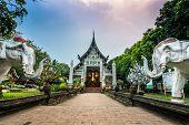 Wat Lok Moli temple in Chiang Mai